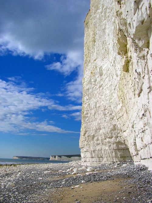 Birling Gap, just past Beachy Head, Eastbourne.