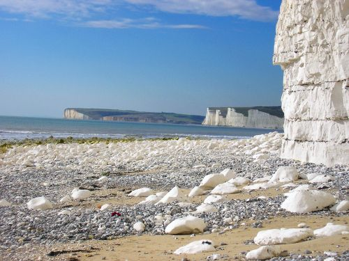 Birling Gap, just past Beachy Head, Eastbourne