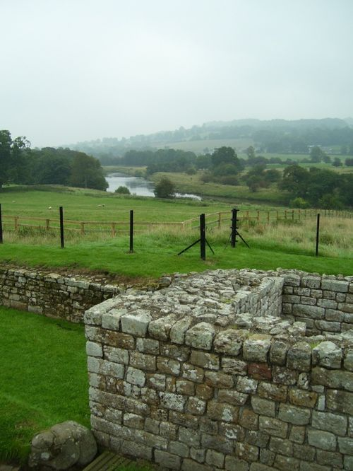 Chester's Roman Fort, Chollerford, Northumberland