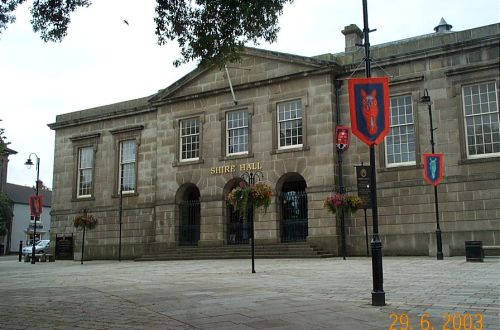 The Shire Hall, Bodmin, Cornwall
