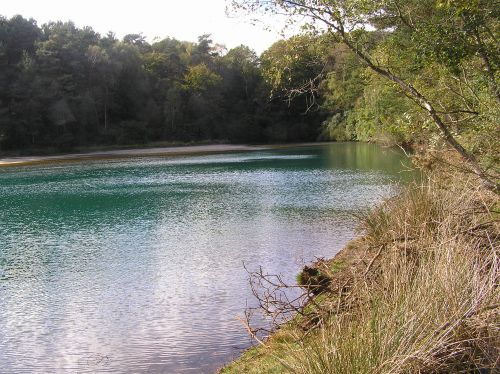 A picture of The Blue Pool