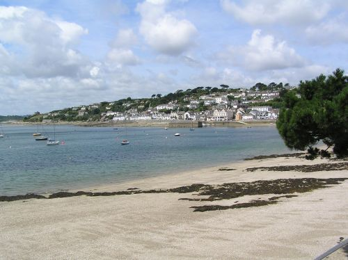 St Mawes is an attractive seaside town on the Roseland peninsular, near Falmouth, Cornwall.