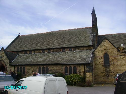 St James Church, Woodhouse, Sheffield,