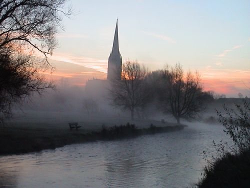 A picture of Salisbury Cathedral