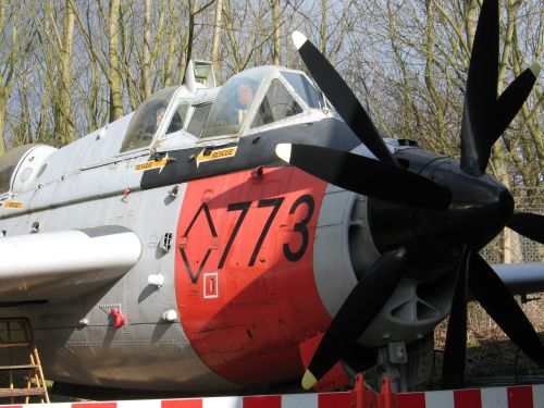 Woodley, Reading, Berkshire. Fairey Gannet at Berkshire Museum of Aviation