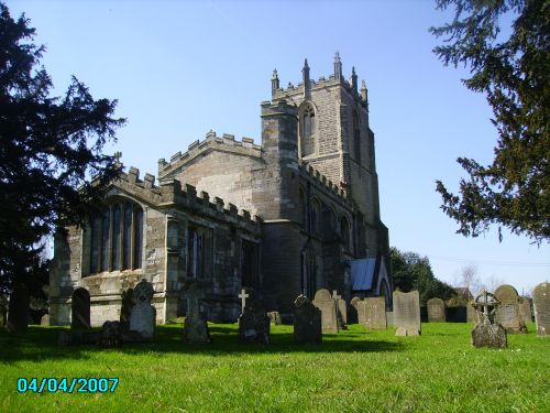Church of Gamston in the village of Gamston, Nottinghamshire.