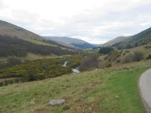College Valley in the Cheviots