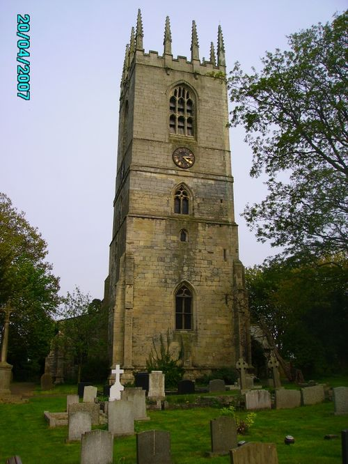 St Peter and St Paul Church in Sturton le Steeple in Nottinghamshire.