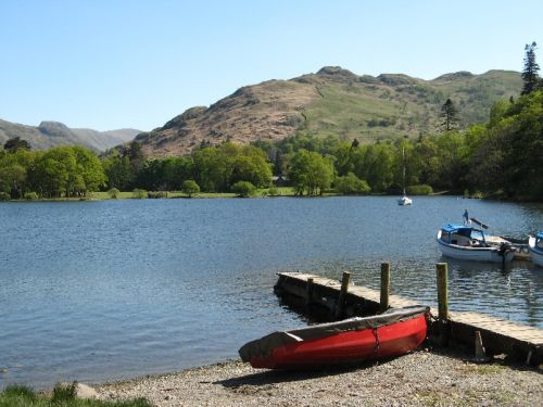 Ullswater, Cumbria. Canon Powershot A710is