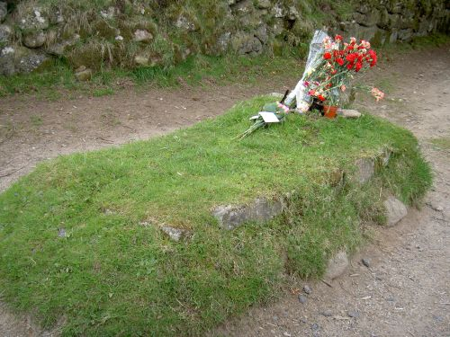 Kitty Jay's Grave, near Widecombe on the moor, Devon