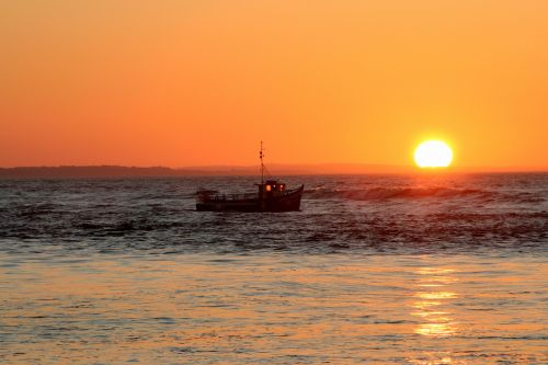 Sunrise at Mudeford, Mudeford, Dorset