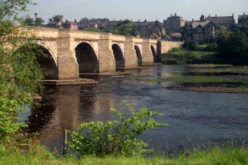 Bridge over the River Tyne at Corbridge, Northumberland