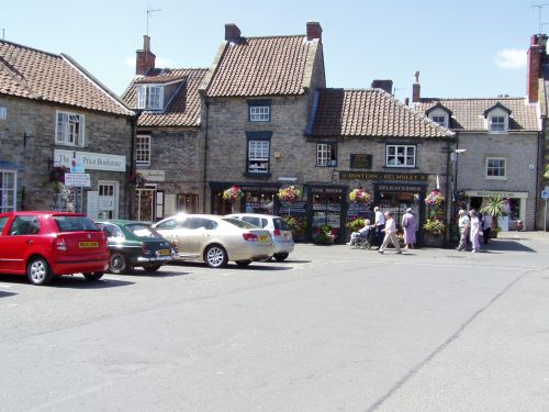 The Square in Helmsley, North Yorkshire, July 2006