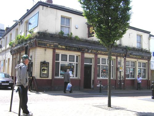 The Royal Standard Pub in Westfield St, St Helens (May 2006)
