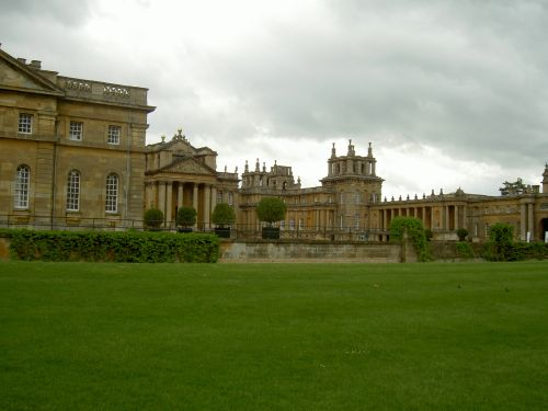 Blenheim Palace in Woodstock, Oxfordshire.