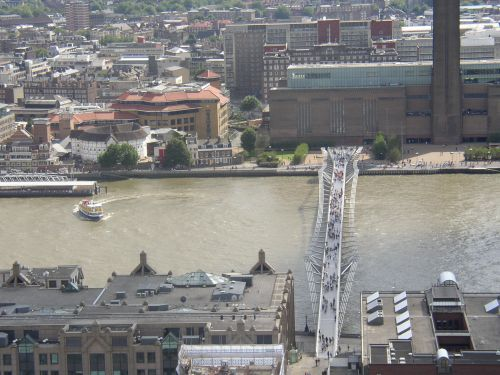 Millennium Bridge, London, Greater London