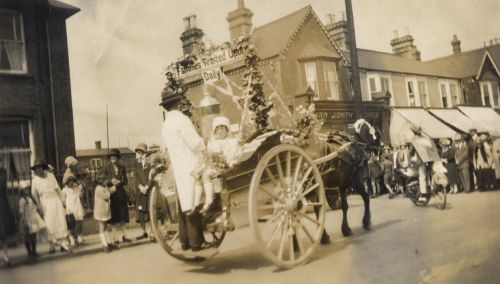 Parade in Bletchley, c1930s