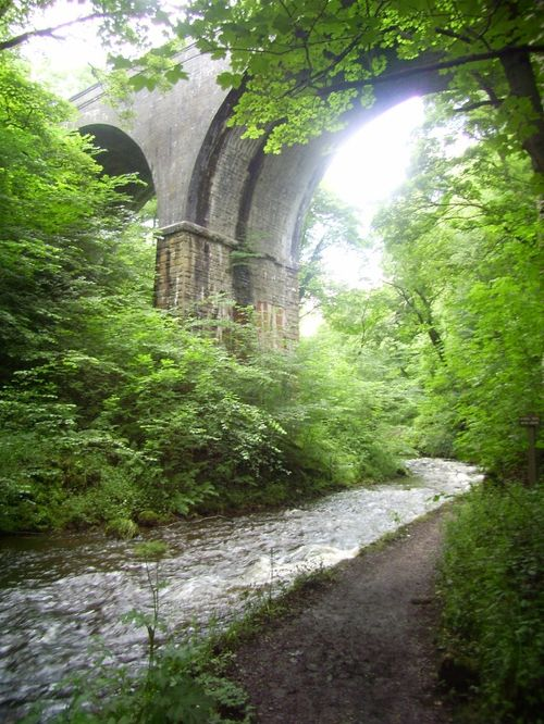 The Viaduct on Millers Dale