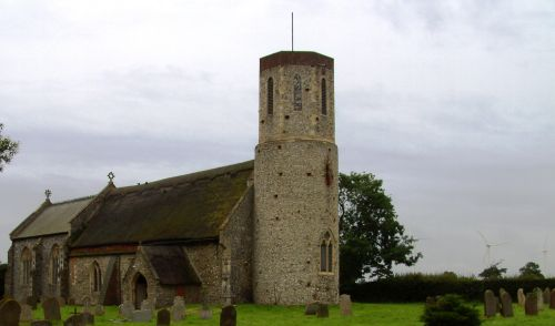 St Marys Church, West Somerton, Norfolk