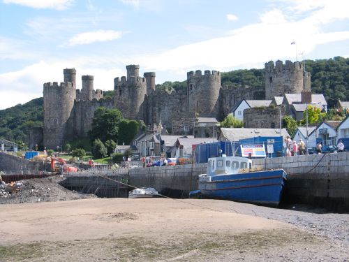 Conwy Castle, Conwy, Gwynedd, Wales