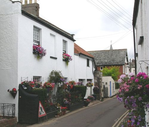 Lympstone cottages, Devon