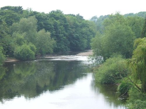 River Ure, West Tanfield, North Yorkshire