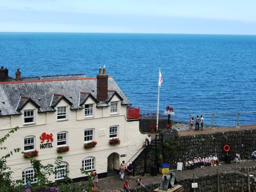 Pub on the Quay, Clovelly, Devon