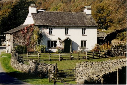 B & B Near Coniston water on the road to Ambleside