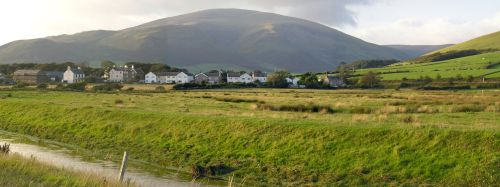 Panorama of Kirksanton, Cumbria