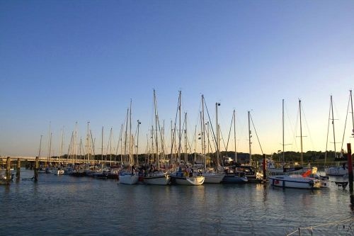 Evening in Yarmouth Harbour, Isle of Wight