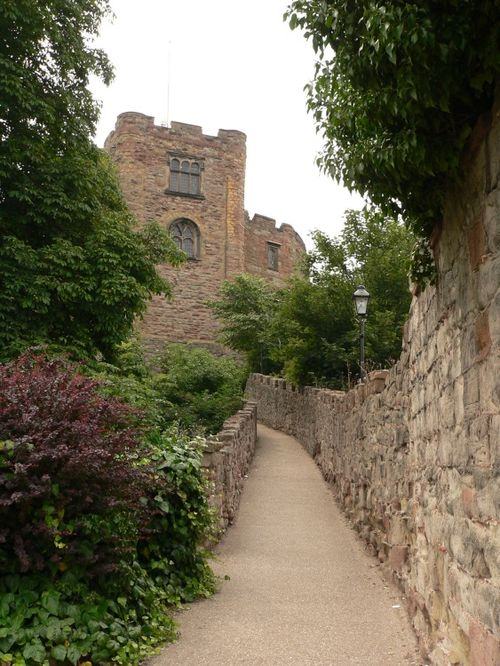 Tamworth Castle in Staffordshire