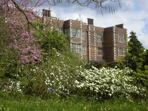 Doddington Hall, Lincolnshire, view from the grounds.
