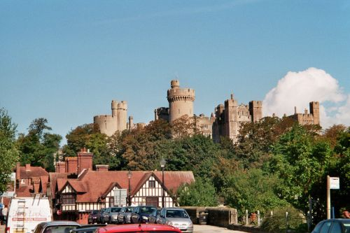 View of Arundel Castle, West Sussex