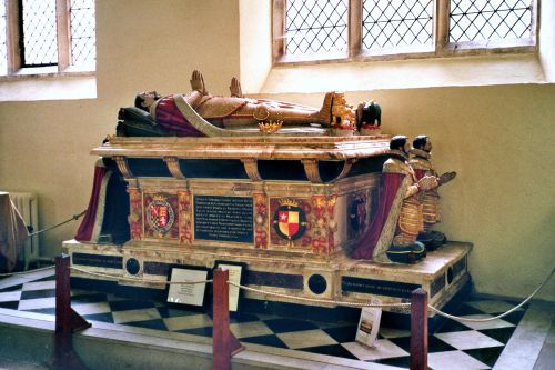 Howard tomb at St Michael's Church, Framlingham, Suffolk
