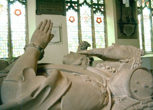 Effigy 3rd Duke of Norfolk, St Michael's Church, Framlingham, Suffolk