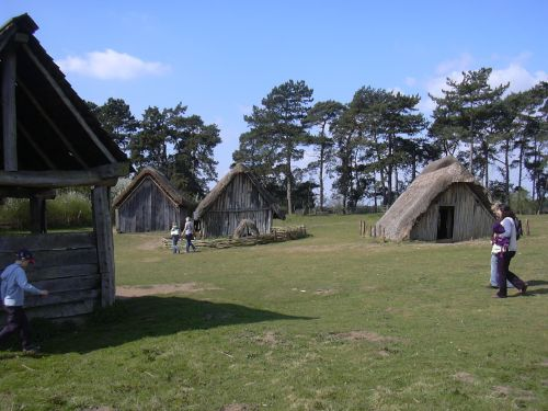 Anglo-Saxon village, West Stow Country Park, Suffolk