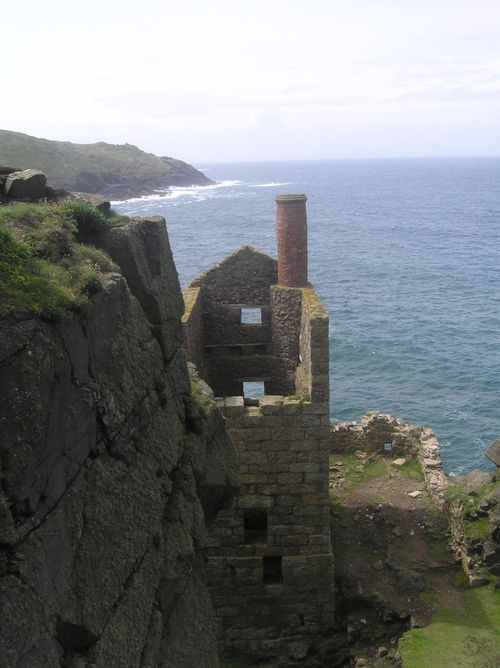 The Crowns, Botallack mine, near St Just, Cornwall