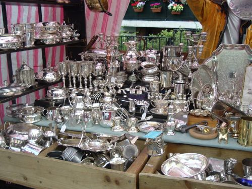 A stall in Portobello road, London