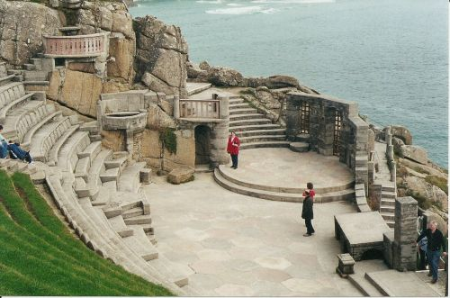 Minack Theatre in Cornwall