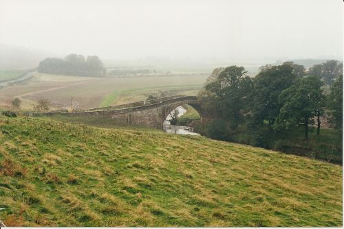 Classical Single Lane Bridge In the Borders near Jedburgh