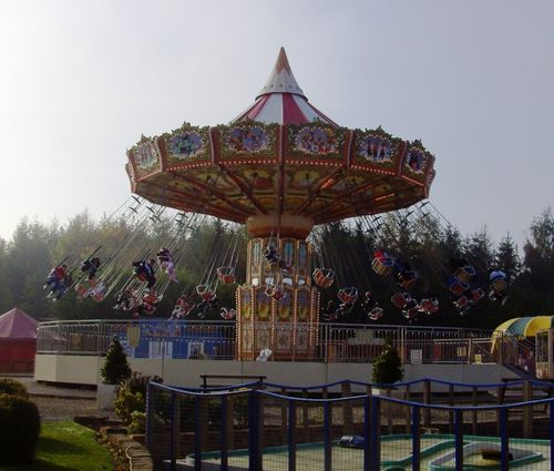 Swings, Lightwater Valley Park, Ripon, North Yorkshire