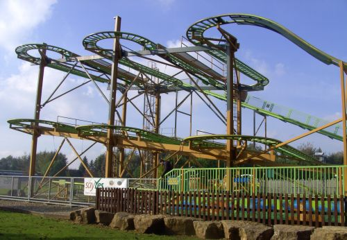 The Twister, Lightwater Valley Park, Ripon, North Yorkshire