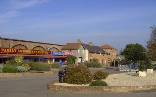 The Entrance of Lightwater Valley Park, Ripon, North Yorkshire