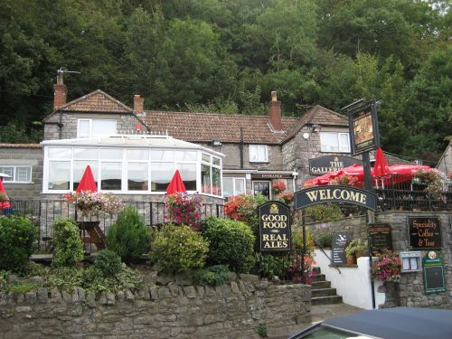 Pub and Restaurant at Cheddar, Somerset