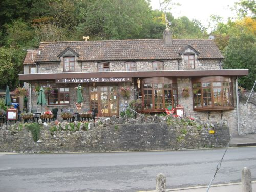 Tea Rooms at Cheddar, Somerset