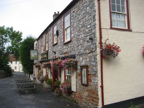 The White Hart Pub, Cheddar, Somerset