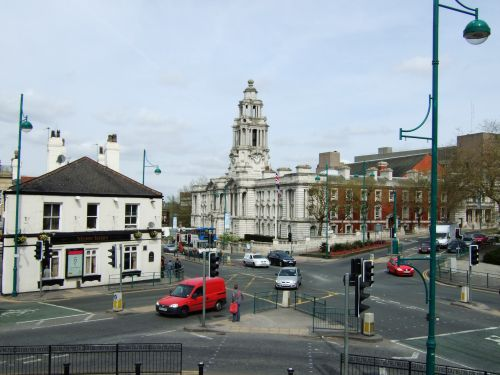 Stockport Town Hall, Greater Manchester