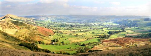 Panorama from Mam Tor