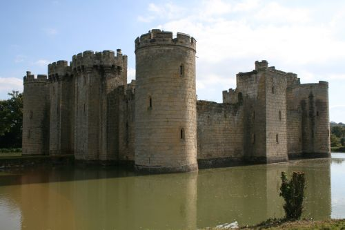 Bodiam Castle, Robertsbridge, East Sussex