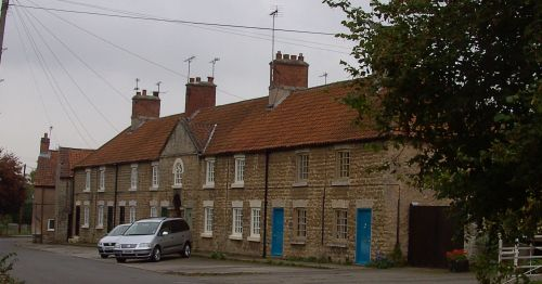 Village Street in South Carlton, Nottinghamshire